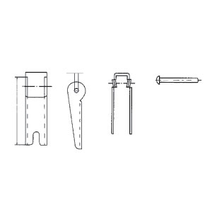 Spare Safety Catch Kits For Hooks