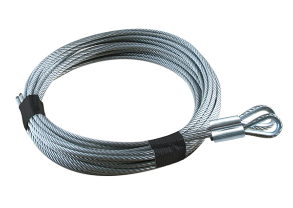 Wire Cable Assemblies : Industrial door cables wire rope assemblies