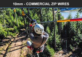 10mm commercial zip wire
