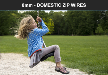 6mm domestic zip wire