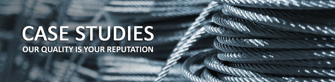Case Studies   Steel Wire Rope