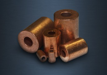 Round Copper End Stops
