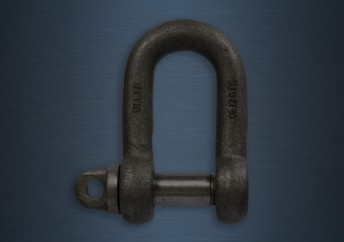 Large Dee Shackles Type A Screw Collar Pin