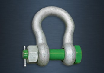 Galvanised Green Pin Heavy Duty Safety Pin Bow Shackles