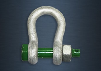 Galvanised Green Pin Safety Pin Standard Shackles