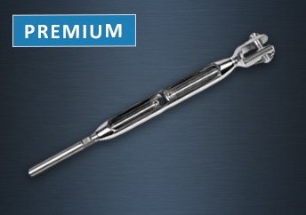 Premium Fork and Swage Turnbuckle