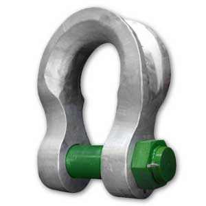 Green Pin Safty Pin Sling Bow Shackle
