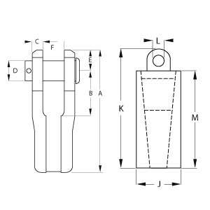 Button Spelter Sockets - Diagram