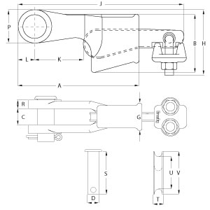 Utility Wedge Sockets - Diagram