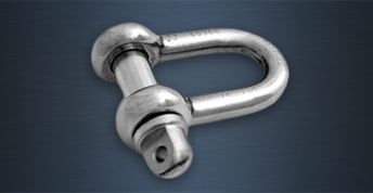 High Tensile Stainless Steel Lifting Shackles - A Type
