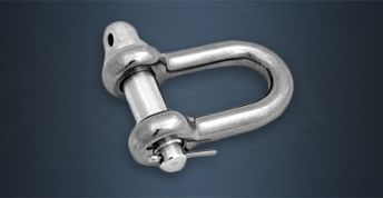 High Tensile Stainless Steel Lifting Shackles - AL Type