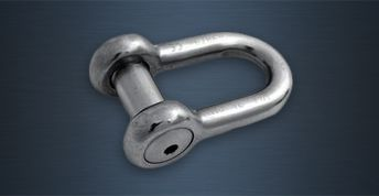 High Tensile Stainless Steel Lifting Shackles - B Type
