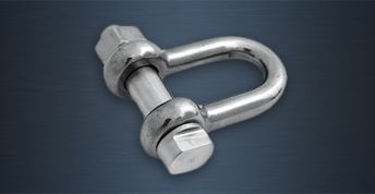 High Tensile Stainless Steel Lifting Shackles - E Type