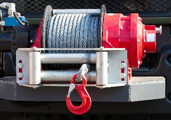 Winch with hook