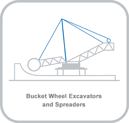 Icon and heading for - Bucket Wheel Excavators and Spreaders