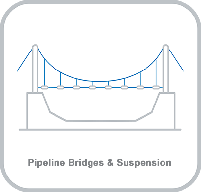 Icon and heading for - Pipeline Bridges